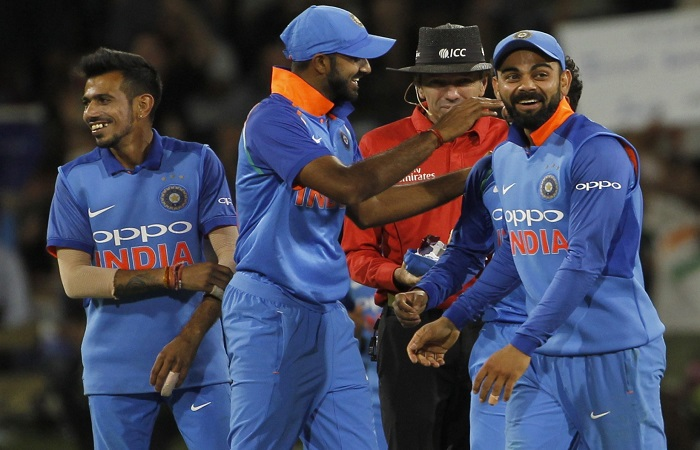 2nd ODI: Virat Kohli praises bowlers after victory Images