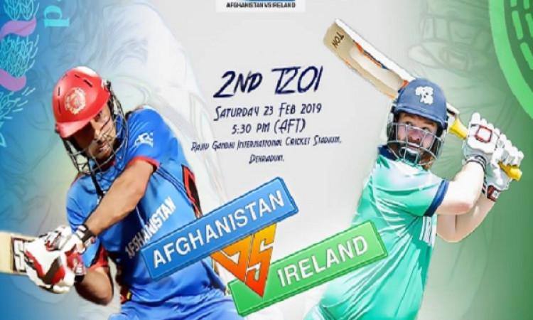2nd T20I: आयरलैंड के खिलाफ अफगानिस्तान ने टॉस जीतकर पहले बल्लेबाजी का फैसला, प्लेइंग XI Images