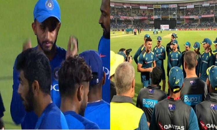 पहला टी-20: भारत बनाम ऑस्ट्रेलिया: जानिए प्लेइंग XI, ये दो खिलाड़ी को मिला डेब्यू करने का मौका Image