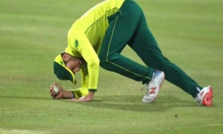 पाकिस्तान के खिलाफ पहले टी-20 में साउथ अफ्रीका के डेविड मिलर ने अपनी फील्डिंग से बना दिया वर्ल्ड रिक