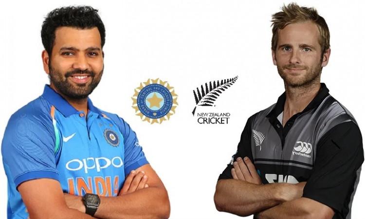 India vs New Zealand 1st t20i