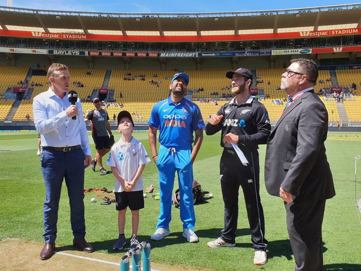 India vs New Zealand Toss