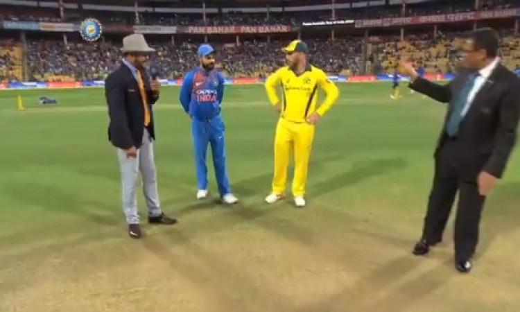 दूसरा टी-20: ऑस्ट्रेलिया ने टॉस जीतकर भारत को पहले बैटिंग करने को कहा, भारतीय टीम में 3 बदलाव Images