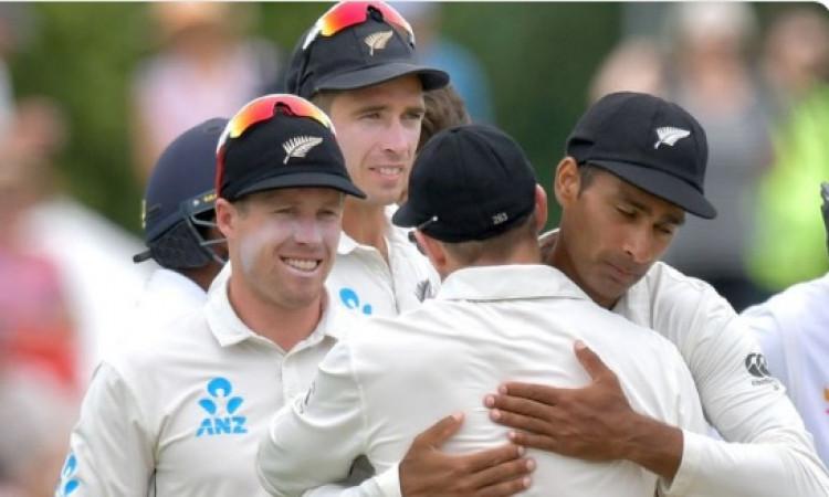 टेस्ट रैंकिंग में न्यूजीलैंड टीम का कमाल, इस नंबर पर पहुंचकर रच दिया इतिहास Images