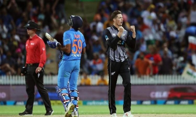 निर्णायक टी-20 में भारत को मिली हार, न्यूजीलैंड के खिलाफ टी-20 में भारत ने बनाया हार शर्मनाक रिकॉर्ड