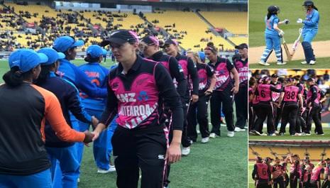 पहले टी-20 में न्यूजीलैंड ने महिला भारतीय टीम को 23 रनों से दी मात, आखिरी 8 विकेट केवल 35 रन ही जोड़