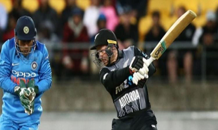 पहले टी-20 में न्यूजीलैंड का धमाका, 20 ओवर में 6 विकेट पर बनाए 219 रन Images