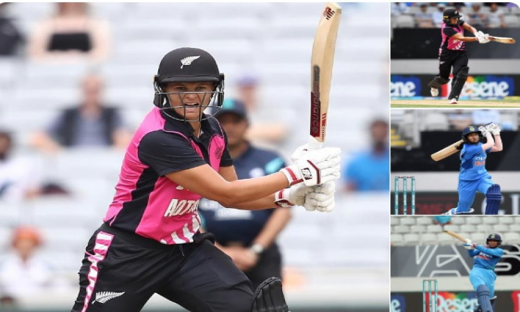 महिला टी-20क्रिकेट: तीसरे टी-20 में न्यूजीलैंड महिला ने भारतीय टीम को दिया 162 रनों का टारगेट Images