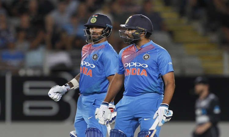 Rohit Sharma and Shikhar Dhawan