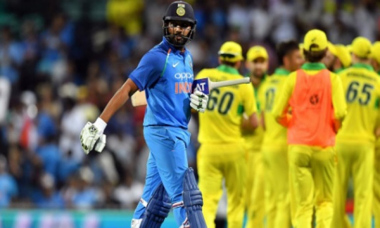 ऑस्ट्रेलिया के खिलाफ टी-20 सीरीज में रोहित शर्मा को नहीं किया जाएगा टीम में शामिल Images