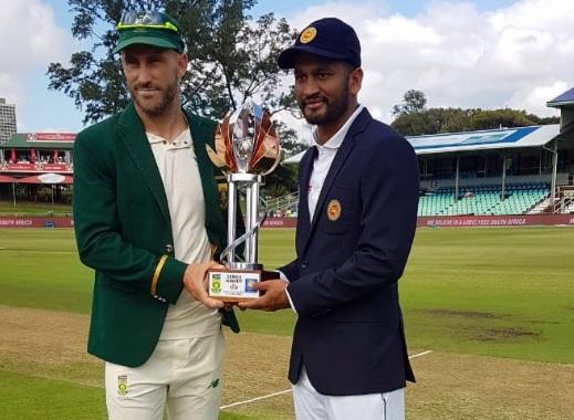 पहले टेस्ट में श्रीलंका ने साउथ अफ्रीका के खिलाफ टॉस जीतकर पहले फील्डिंग करने का किया फैसला, प्लेइंग