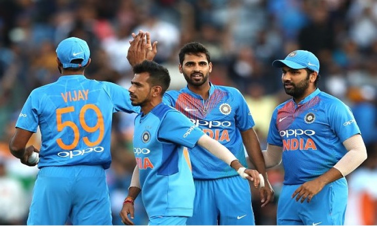 India defeat New Zealand in 2nd T20i to level series Images