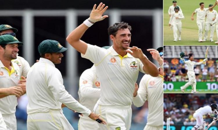 कैनबरा टेस्ट में आस्ट्रेलियाई टीम ने किया कमाल, श्रीलंका को 366 रनों से करारी शिकस्त दी Images
