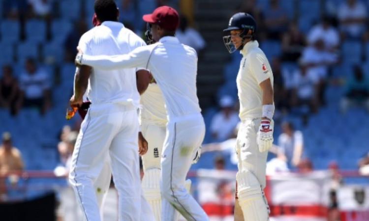 जोए रूट और शेनन गेब्रिएल के बीच तीसरे टेस्ट मैच के दौरान हुई कहासुनी, ऐसा कहने पर इन क्रिकेटरों को ह