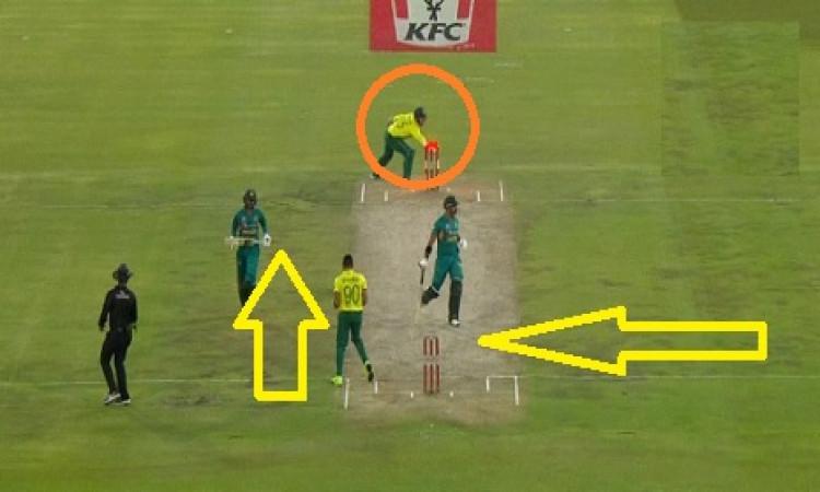 साउथ अफ्रीका के खिलाफ तीसरे टी-20 में पाकिस्तान की जीत लेकिन शोएब मलिक के साथ हो गई ऐसी हरकत Images