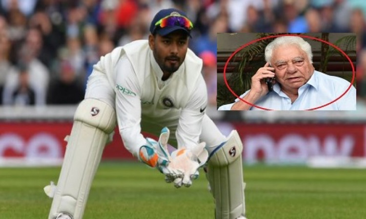 पूर्व विकेटकीपर फारुख इंजीनियर ने कहा, ऋषभ पंत को बतौर बल्लेबाज वर्ल्ड कप में खेलना चाहिए Images