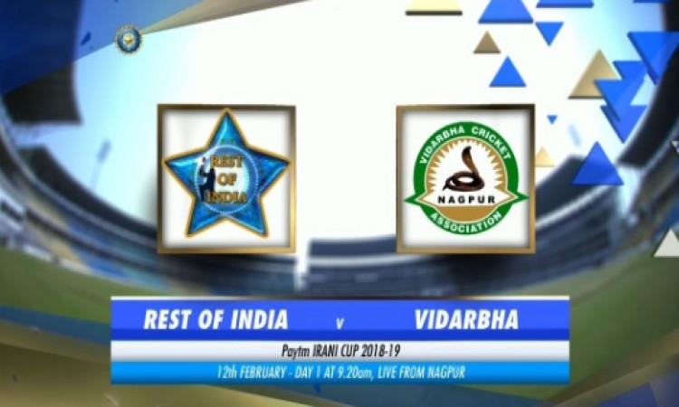 ईरानी ट्रॉफी में शेष भारत की टीम रणजी ट्रॉफी चैंपियन विदर्भ से करेगी मुकाबला, यह दिग्गज बना शेष भारत