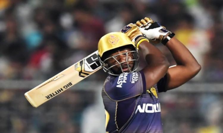 KXIP के खिलाफ तूफानी पारी खेलने वाले रसेल ने कहा, ऐसी गेंद मिलेगी तो बल्ले धमाका करूंगा Images