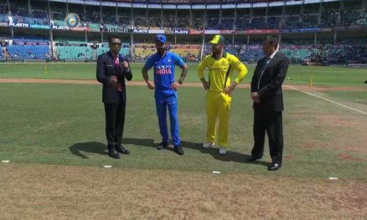 UPDATE दूसरे वनडे में ऑस्ट्रेलिया ने जीता टॉस, पहले फील्डिंग करने का फैसला Images