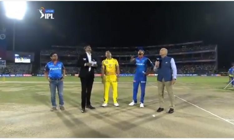 IPL 2019: दिल्ली के कप्तान श्रेयस अय्यर ने CSK के खिलाफ टॉस जीतकर पहले बल्लेबाजी करने का किया फैसला,