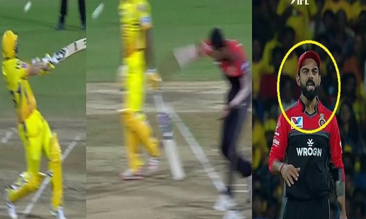 VIDEO युवा तेज गेंदबाज नवदीप सैनी ने शेन वॉटसन को फेंकी खतरनाक बाउंसर, देखने लायक था कोहली का रिएक्श