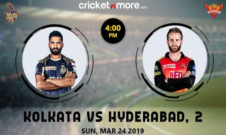 Kolkata vs Hyderabad