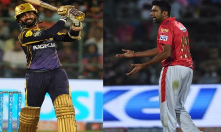 IPL 12: किंग्स इलेवन पंजाब के खिलाफ KKR की संभावित प्लेइंग XI इस तरह की होगी Images