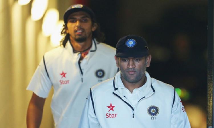 MS Dhoni+Ishant Sharma