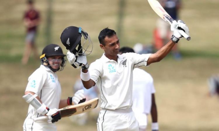 जीत रावल और टॉम लाथम के शतक से न्यूजीलैंड ने पहली पारी में बनाए 451 रन, बांग्लादेश पर 217 रनों की बढ