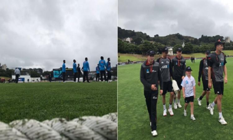 न्यूजीलैंड और बांग्लादेश के बीच खेले जा रहे दूसरे टेस्ट मैच का दूसरे दिन भी बारिश से धुला Images