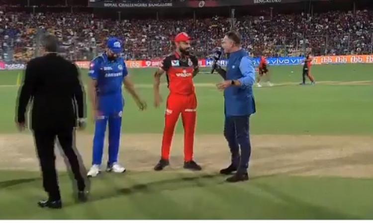 आईपीएल-12 : बेंगलोर ने जीता टॉस, पहले गेंदबाजी का फैसला किया, रोहित शर्मा ने किए चौंकाने वाले बदलाव