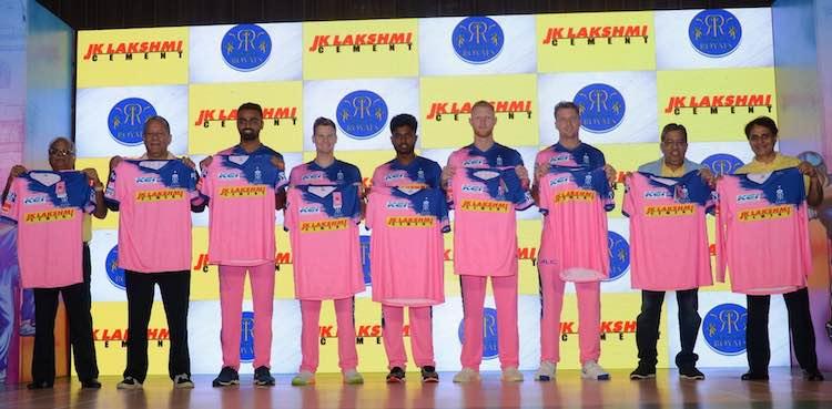 Rajasthan Royals Pink Jersey