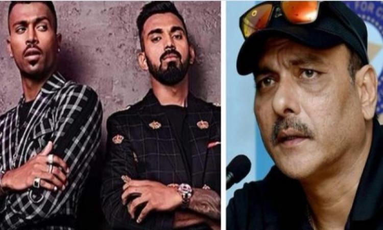 रवि शास्त्री ने हार्दिक पांड्या और केएल राहुल पर दिया बयान, गलतियों पर फटकार लगनी जरूरी थी Images