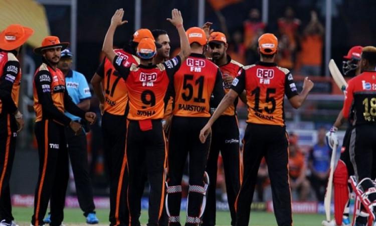 IPL 2019: वॉर्नर, बेयरस्टो और मोहम्मद नबी के धमाकेदार परफॉर्मेंस के बल पर हैदराबाद ने बैंगलोर को 118