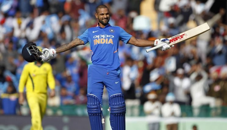 Shikhar Dhawan Vs Australia Images in Hindi