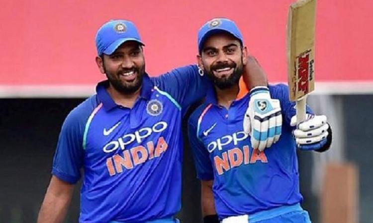 आईसीसी ने ताजा वनडे रैकिंग की जारी,विराट कोहली, रोहित शर्मा टॉप पर काबिज Images
