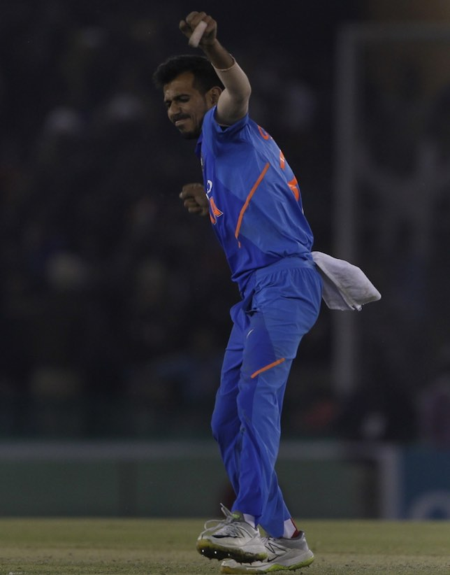 Yuzvendra Chahal Vs Australia Images in Hindi