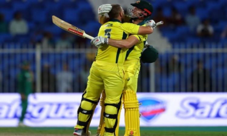 पाकिस्तान के खिलाफ पहले वनडे में एरोन फिंच ने किया कमाल, शतक ठोककर जीताया ऑस्ट्रेलिया को Images