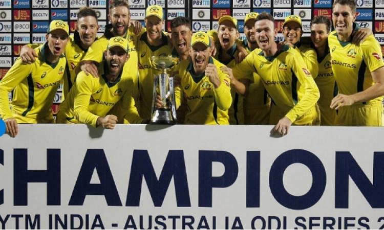 ऑस्ट्रेलिया ने वनडे सीरीज 3- 2 से जीती, विराट कोहली की कप्तानी में पहली दफा अपने घर पर वनडे सीरीज मे