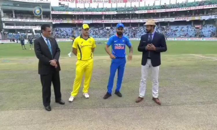 5th ODI: ऑस्ट्रेलिया ने टॉस जीतकर पहले बल्लेबाजी का किया फैसला,  दोनों टीमों में बदलाव, प्लेइंग XI I