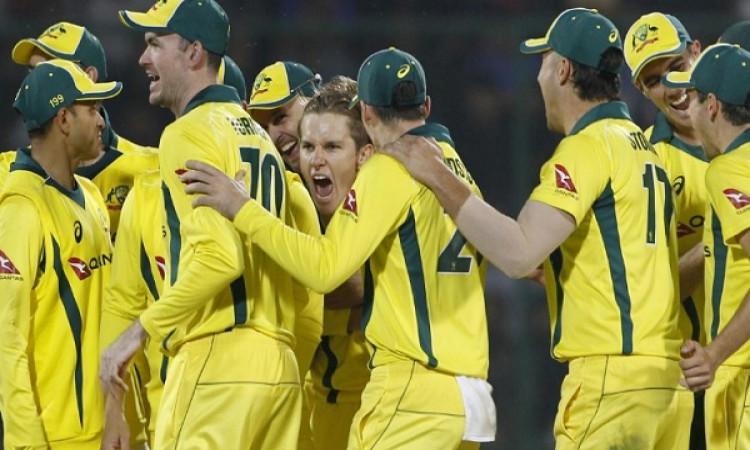 पांचवें वनडे में भारत को मिली 35 रनों से मिली हार, वनडे सीरीज ऑस्ट्रेलिया के नाम Images