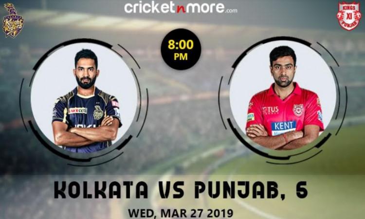 IPL 12: केकेआर के खिलाफ किंग्स इलेवन पंजाब की टीम में एक बदलाव संभव, देखें संभावित XI Images