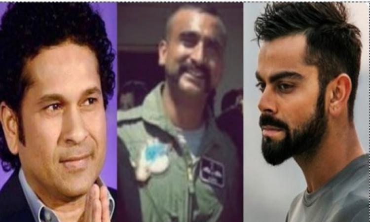 विग कमांडर अभिनंदन के भारत वापसी पर कोहली और सचिन ने इस खास अंदाज में दी सलामी Images