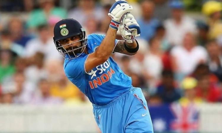 विराट कोहली बतौर कप्तान इंटरनेशनल क्रिकेट में सबसे तेज 9000 रन बनानें वाले कप्तान बने Images
