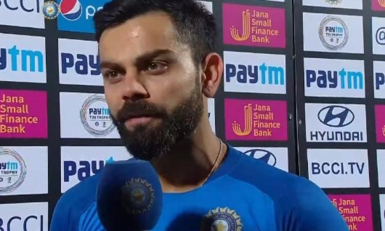 चौथे वनडे में भारत की हार के बाद DRS को लेकर कोहली हुए गुस्सा, कही ऐसी  बात Images