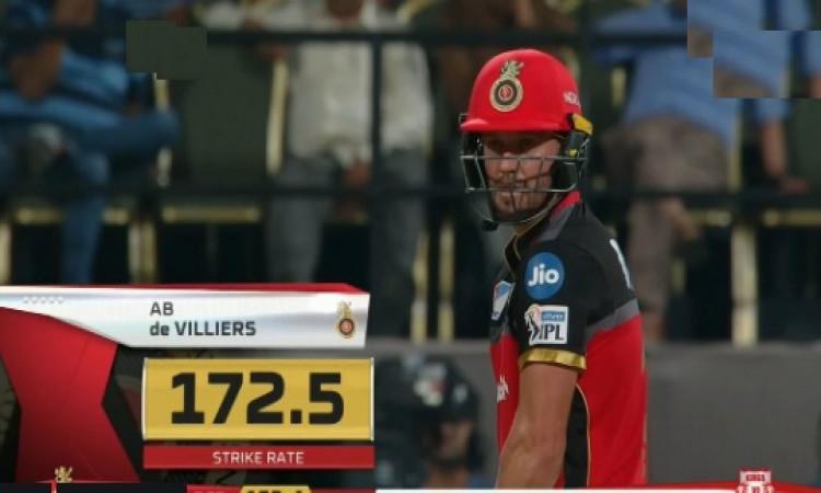 किंग्स इलेवन पंजाब के खिलाफ ऐसा करने के बाद ही खेल पाया 82 रनों की पारी, डीविलियर्स का बयान Images