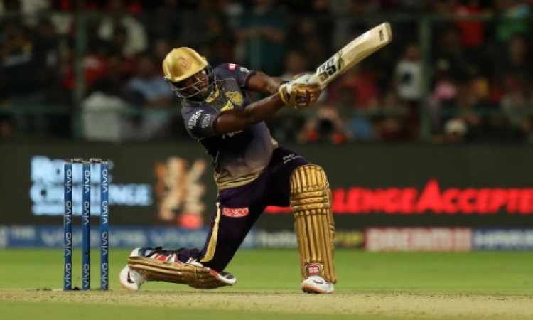 तूफान लाने वाले आंद्रे रसेल ने दिया गेंदबाजों को चुनौती, कहा हर तरह की मैदान पर करूंगा धुनाई Images