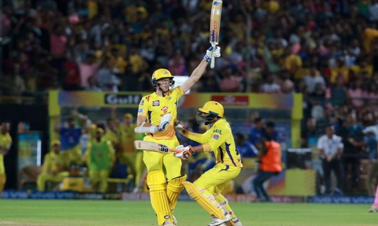 चेन्नई सुपर किंग्स ने राजस्थान रॉयल्स को 4 विकेट से हराया, धोनी-रायडू ने जड़ा अर्धशतक Images