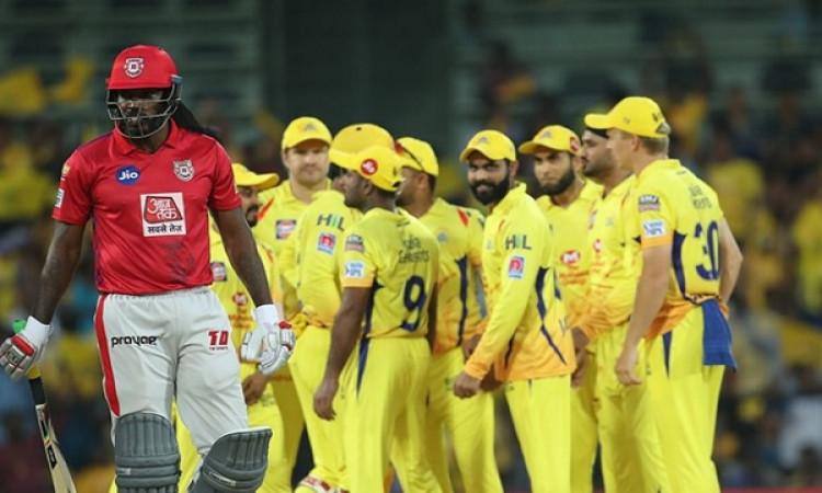 IPL 2019: चेन्नई सुपर किंग्स के गेंदबाजों ने किया कमाल, किंग्स इलेवन पंजाब को 22 रन से दी मात Images
