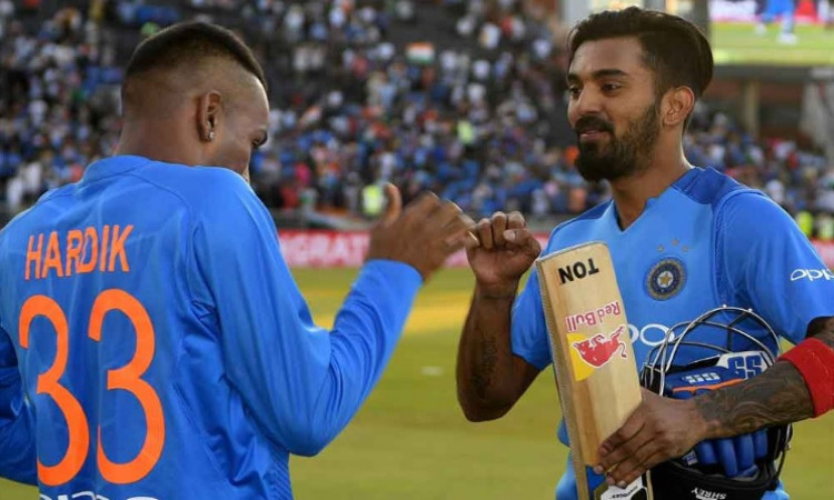Hardik Pandya+KL Rahul